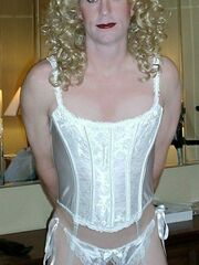 Crossdresser named sam wearing panties videos Crossdresser posing in beautiful lingerie gelery